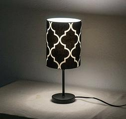 "1 x 16"" Fabric Shade Metal Base Bedside Table Lamps Desk Lam"