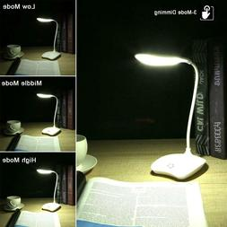 Table Light LED Desk Lamp With USB Charging Port Home Office