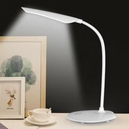 16LED Table Desk Lamp 3 Mode Touch Dimming Rechargeable Eye