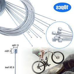 10PCS Bicycle Shift Shifter Derailleur Gear Stainless Steel