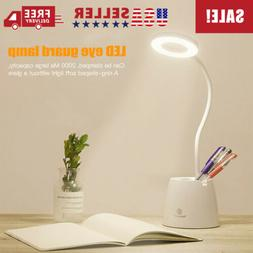 18 LED Table Lamp Storage Pen Holder Lamps Touch Control Lam
