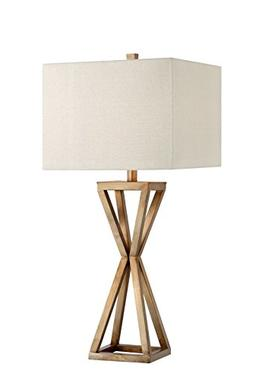 Catalina 19744-000 Contemporary Open Caged Metal Table Lamp