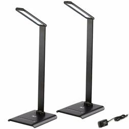 2 x 6W Dimmable LED Desk Lamp Super Bright 7 Level Touch Sen