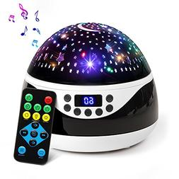 2018 NEWEST Baby Night Light, AnanBros Remote Control Star P