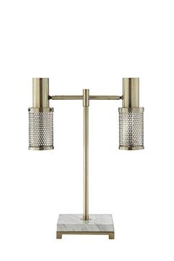 Catalina Lighting 20606-000 Dash LED Brass Desk Lamp with Ma