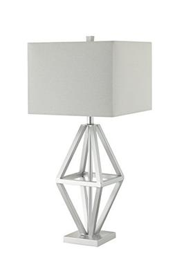 Catalina Lighting 20612-000 Maddox Table Lamp with White Rec