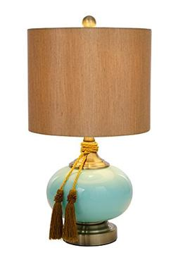 Catalina Lighting 20636-000 Lexi Painted Glass Table Lamp wi