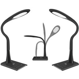 2pcs 8W Dimmable LED Desk Lamp Touch sensor Table Reading Bo