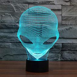 3d optical illusion desk lamp