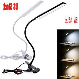 5W USB Clip-On Desk Lamp 48 LEDS Flexible Reading light Dimm