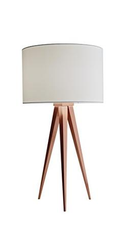 """Adesso 6423-20 Director 26.25"""" Table Lamp, Brushed Copper"""