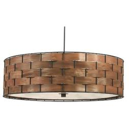 Kenroy Home 92038DWW Shaker 3-Light Pendant