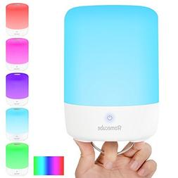Touch Lamp, Homecube LED Bedside Lamp with Power Bank,Touch