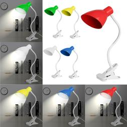 ac110 220v flexible reading light lamp clip