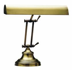 "House of Troy AP14-41-71 Advent Piano/Desk Lamp, 14"", Antiqu"