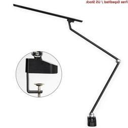 Amico 11W LED Architect Desk Lamp/Clamp Lamp/Metal Swing Arm