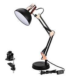 Architect Task Lamp Swing Arm Desk Lamp with Clamp for Home