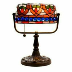 Warehouse of Tiffany Art Glass Bankers Desk Lamp