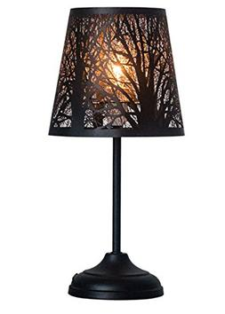 """15"""" Bed Side Table Lamp Desk Lamp With Lamp Shade"""