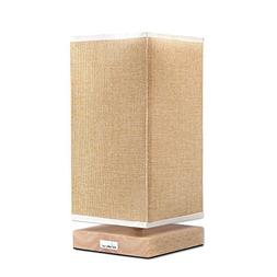 HAITRAL Bedside Lamp, Table Lamps for Bedroom with Retro Sty