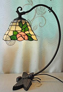 Butterfly Drunk Pastoral Creative Tiffany Table Lamp Living