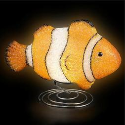 CLOWN FISH LAMP kids children room table bed desk night ligh