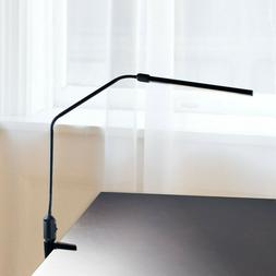Lavish Home Contemporary Clamp LED Desk Lamp, Black