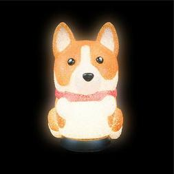 Corgi Dog Lamp Kids Children Room Table Bed Desk Night Light