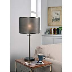 Design Craft Crater Graphite 29-inch Table Lamp