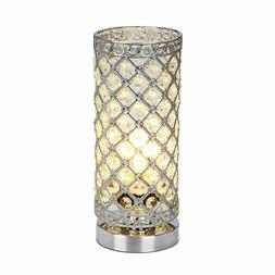 Crystal Table Lamp Touch Control Dimmable Accent Desk Lamp B