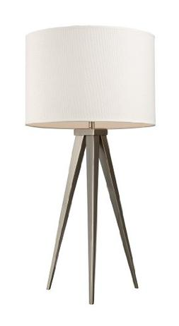 Dimond D2122 Salford Table Lamp with Off-White Linen Shade a