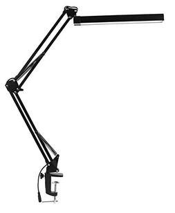 LED Desk Lamp with Clamp - KANARS Premium Aluminum Swing Arm
