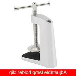 Desk Lamp Fixed Base Clamp Holder Clip with Stainless Steel