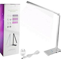 Desk Lamp,Infinilla LED Table Light Metal, Touch Control Dim