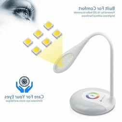 Desk Lamp Wireless Rechargeable Color LED  Eye-caring Table