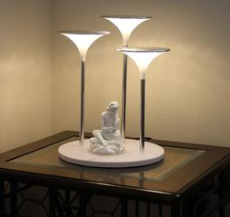 Desk LED Lamp with anude girl statue, Dimmer,Artistic, I