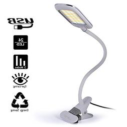 Dimmable LED Desk Lamp Lofter 5W USB Powered Eye-caring Tabl