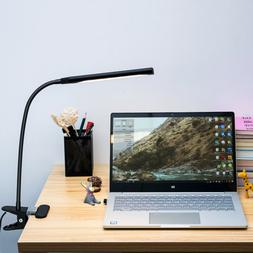 dimmable flexible usb clip on desk 48