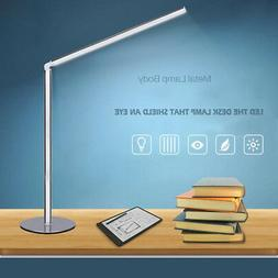 Dimmable LED Desk Lamp 7 Brightness Levels Eye Protection Re