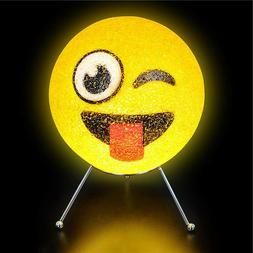EMOTICON LAMP kids children room table bed desk night light