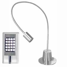 Adesso 5033-22 Eternity Extended-Gooseneck LED Desk Lamp, Sm