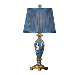 European-style Resin Painted Carved Table Lamp Living Room B