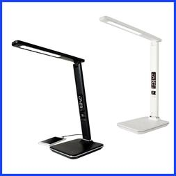 Ottlite Executive Desk Lamp with 2.1A USB Charging Port, 3 C