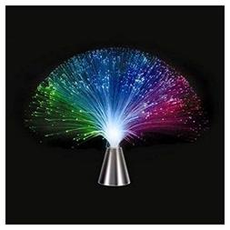 Multicolor Fiber Optic Lamp Light Holiday Wedding Centerpiec