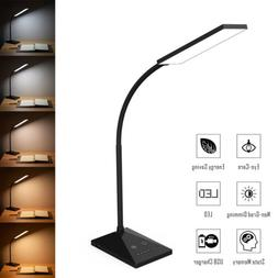Flexible USB Touch Sensor Desk Lamp Led Reading Light 5 Mode