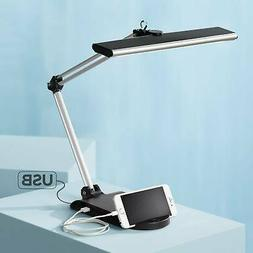 Flynn Led Desk Lamp With Usb Port And Phone Cradle