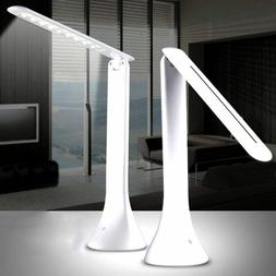 Foldable Rechargeable Touch Dimming LED Desk Lamp Table Dimm