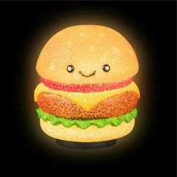 Hamburger Lamp Kids Children Room Table Bed Desk Night Light