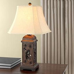 Hollow Carved European Style Retro Children Table Lamp Bedro