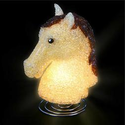 HORSE LAMP kids children room table bed desk night light dec